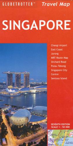 SINGAPORE plan miasta 1:50 000 NEW HOLLAND PUBLISHERS