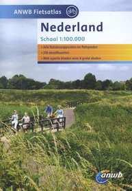 HOLANDIA atlas rowerowy 1:100 000 ANWB 2015