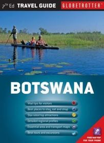 BOTSWANA mapa i przewodnik NEW HOLLAND PUBLISHERS