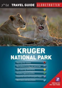 KRUGER NATIONAL PARK mapa i przewodnik NEW HOLLAND PUBLISHERS