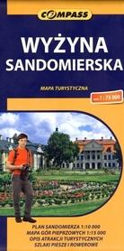 WYŻYNA SANDOMIERSKA mapa turystyczna 1:75 000 COMPASS 2014