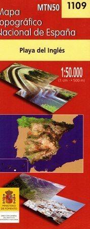 PLAYA DEL INGLES mapa topograficzna 1:50 000 CNDIG 1109