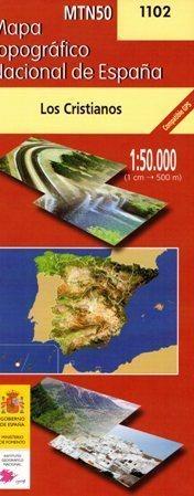 LOS CRISTIANOS mapa topograficzna 1:50 000 CNDIG 1102