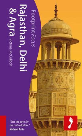 RAJASTHAN DELHI AGRA przewodnik turystyczny FOCUS FOOTPRINT