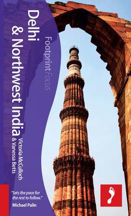 DELHI INDIE PÓŁNOCNO ZACHODNIE przewodnik turystyczny FOCUS FOOTPRINT
