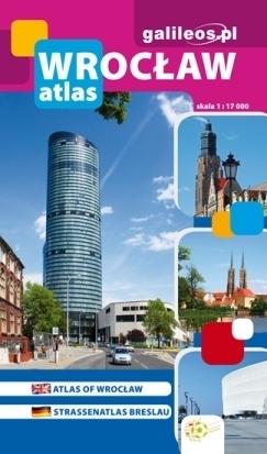 WROCŁAW atlas miasta 1:17 000 PLAN
