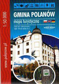 GMINA POLANÓW mapa turystyczna 1:50 000 EKOMAP