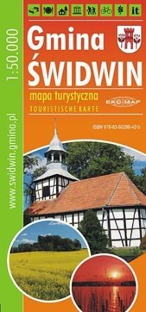 GMINA ŚWIDWIN mapa turystyczna 1:50 000 EKOMAP