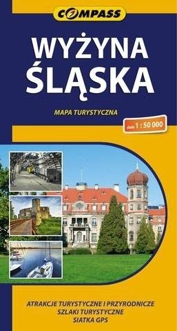 WYŻYNA ŚLĄSKA mapa turystyczna 1:50 000 COMPASS 2014