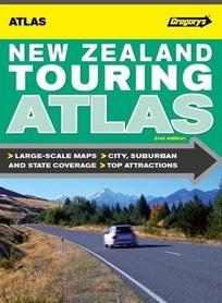 NOWA ZELANDIA TOURING ATLAS samochodowy UBD