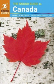 KANADA CANADA przewodnik ROUGH GUIDES 2013