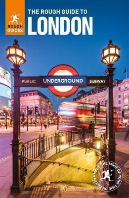 LONDYN LONDON przewodnik ROUGH GUIDES 2018