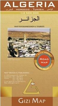 ALGIERIA mapa samochodowa 1:2 500 000 GIZIMAP