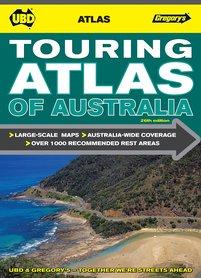 AUSTRALIA TOURING ATLAS samochodowy UBD