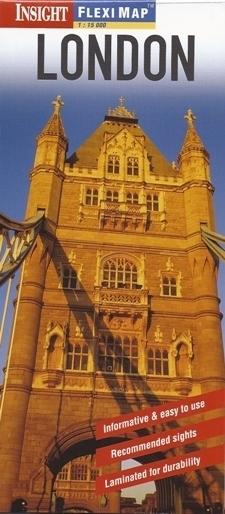 LONDYN plan miasta laminowany 1:15 000 INSIGHT 2014