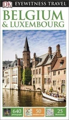 BELGIA I LUKSEMBURG (BELGIUM & LUXEMBOURG) przewodnik DK 2015