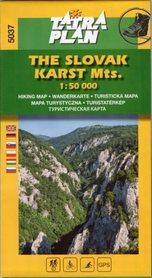 SŁOWACKI KRAS mapa turystyczna 1:50 000 TATRA PLAN