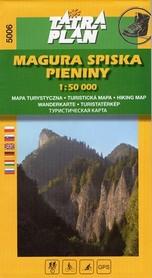 MAGURA SPISKA PIENINY mapa turystyczna 1:50 000 TATRAPLAN