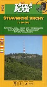 GÓRY SZCZAWNICKIE mapa turystyczna 1:50 000 TATRAPLAN