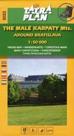 MAŁE KARPATY OKOLICE BRATYSŁAWY mapa turystyczna 1:50 000 TATRAPLAN