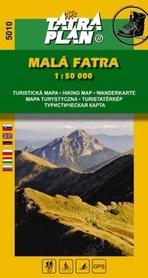 MAŁA FATRA Krywańska mapa turystyczna 1:50 000 TATRAPLAN