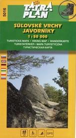GÓRY SULOWSKIE mapa turystyczna 1:50 000 TATRAPLAN