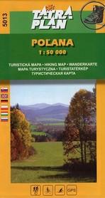 POLANA mapa turystyczna 1:50 000 TATRAPLAN