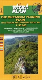 5014 MURAŃSKA PŁANINA mapa turystyczna 1:50 000 TATRAPLAN