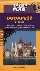 BUDAPESZT plan miasta 1:30 000 TATRAPLAN