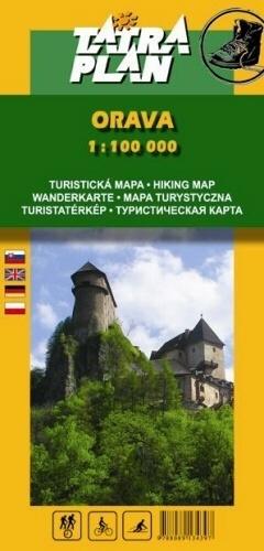ORAWA mapa turystyczna 1:100 000 TATRAPLAN