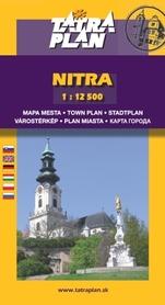 NITRA plan miasta 1:12 500 TATRAPLAN