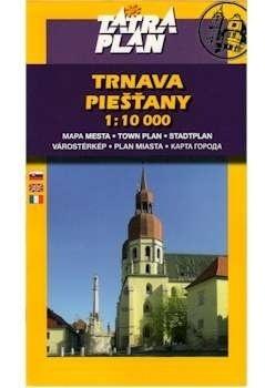 TRNAVA PIESTANY plan miasta 1:10 000 TATRAPLAN