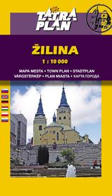 ŻYLINA (ZILINA) plan miasta 1:10 000 TATRAPLAN