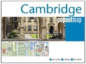 CAMBRIDGE mapa/ plan miasta PopOut Maps