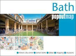 BATH mapa/ plan miasta PopOut Maps