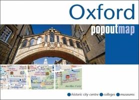 OXFORD mapa/ plan miasta PopOut Maps