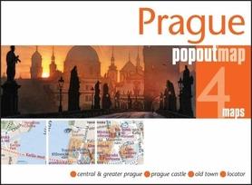 Zdjęcie przedstawia Pragę o zachodzie słońca.