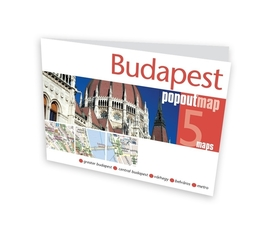 BUDAPESZT BUDAPEST mapa/ plan miasta PopOut Map