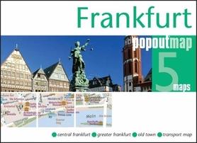 Zdjęcie przedstawia widok na Frankfurt.