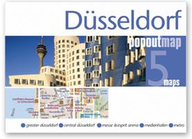 DUSSELDORF mapa/ plan miasta PopOut Maps