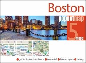 Zdjęcie przedstawia Boston wieczorową porą.