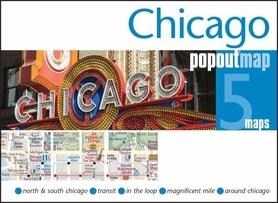Zdjęcie przedstawia napis Chicago składający się z wielu światełek.