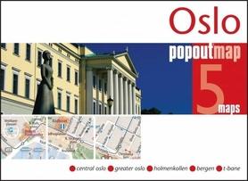 OSLO mapa/ plan miasta PopOut Maps