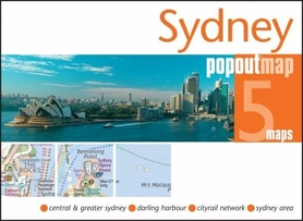 Zdjęcie przedstawia Sydney z perspektywy widzianej od morza.