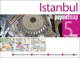 Zdjęcie przedstawia okładkę planu miasta Istambuł.
