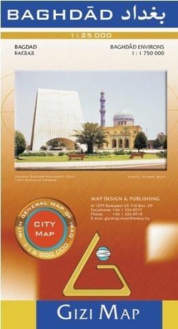 BAGDAD plan miasta 1:25 000 GIZIMAP