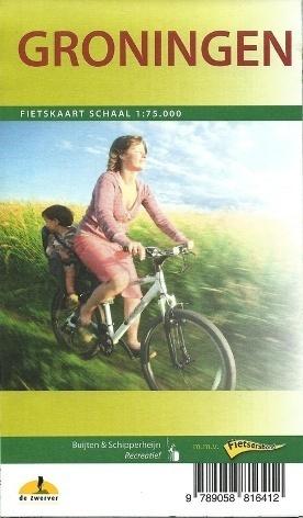 GRONINGEN I OKOLICE  mapa turystyczna rowerowa 1:75 000 BUIJTEN & SCHIPPERHAIJN