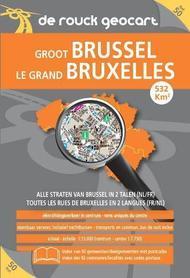 BRUKSELA podręczny atlas miasta DE ROUCK GEOCART