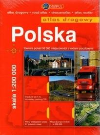 POLSKA atlas drogowy spirala 1:200 000 DAUNPOL