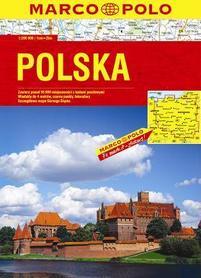 POLSKA atlas drogowy klejony 1:200 000 DAUNPOL